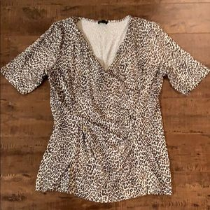 Talbots Leopard Print T-shirt